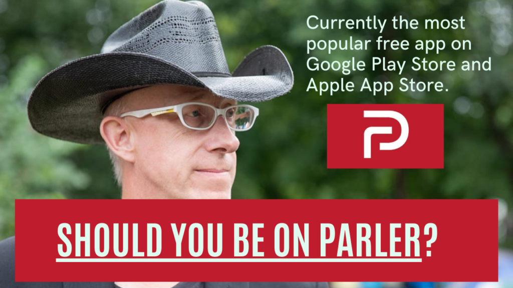 Should You And Your Business Be On Parler